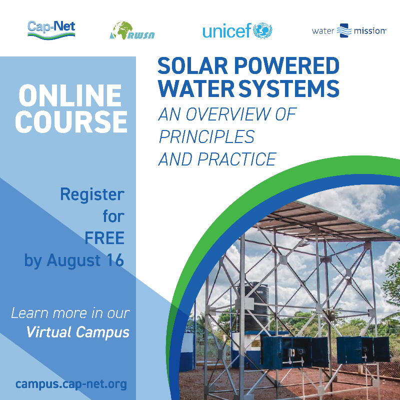 solar powered water systems online course