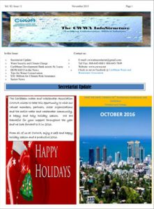 CWWA Newsletter November 2015