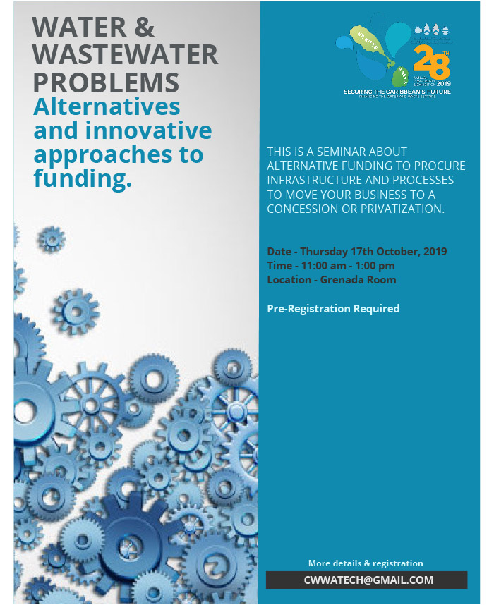 Water & Wastewater Problems - Alternatives and innovative approaches to funding Seminar
