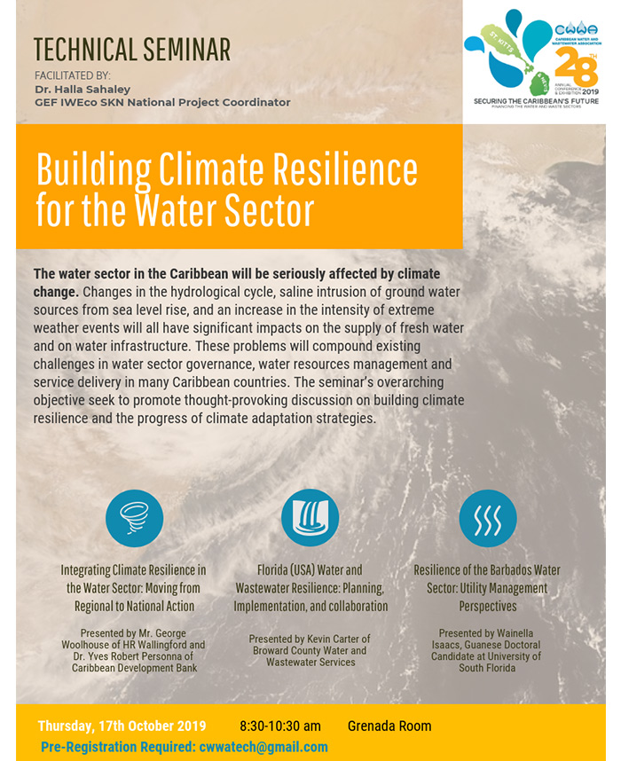 Technical Seminar - Building Climate Resilience for the Water Sector