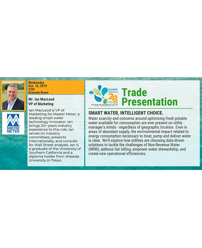 Trade Presentation - Smart Water, Intelligent Choice
