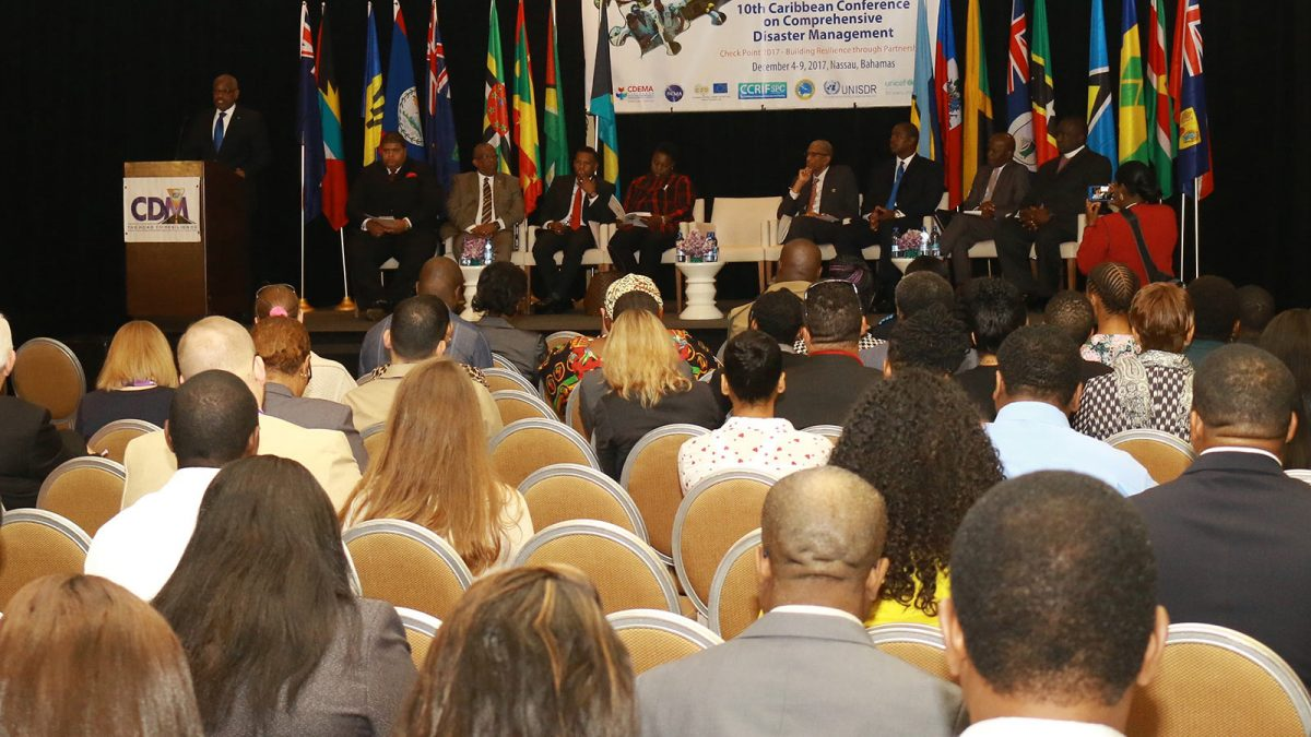 11th Caribbean Conference on CONFERENCE COMPREHENSIVE DISASTER MANAGEMENT