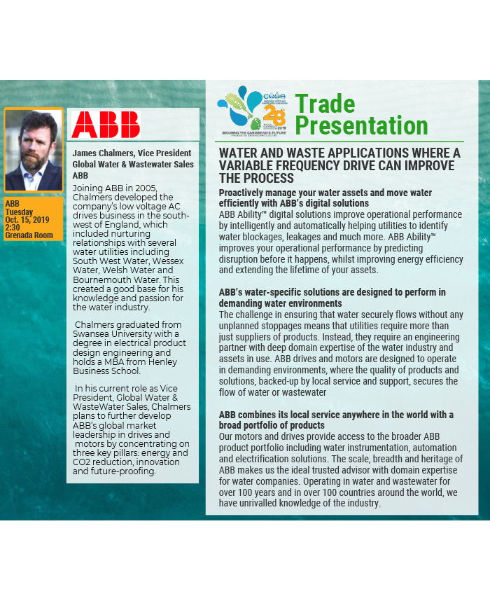 Trade Presentation - Water and waste applications where a variable frequency drive can improve the process