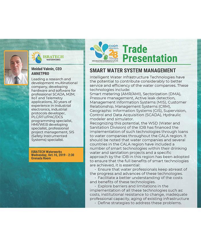 Trade Presentation - Smart Water System Management