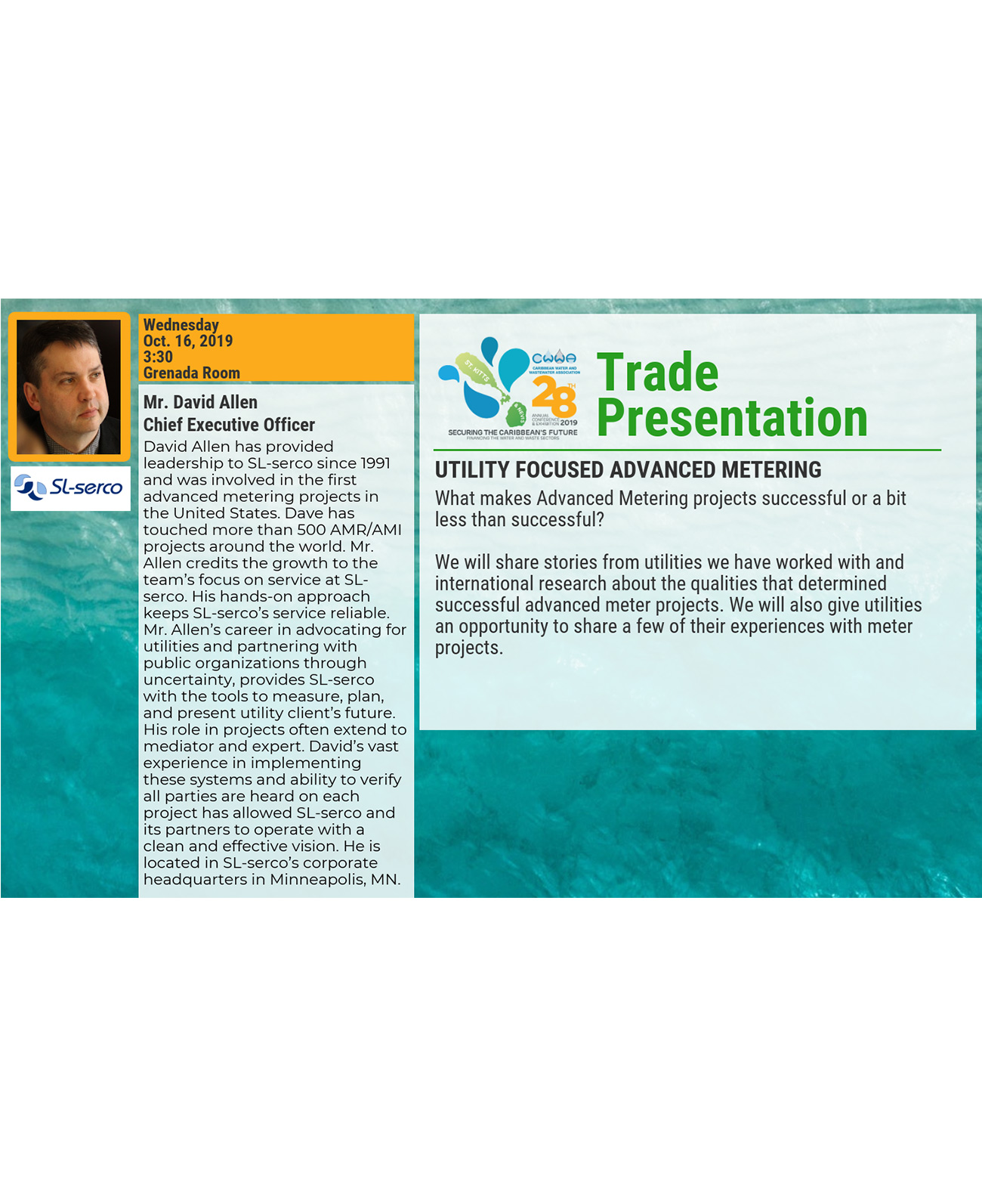 Trade Presentation - Utility Focused Advanced Metering