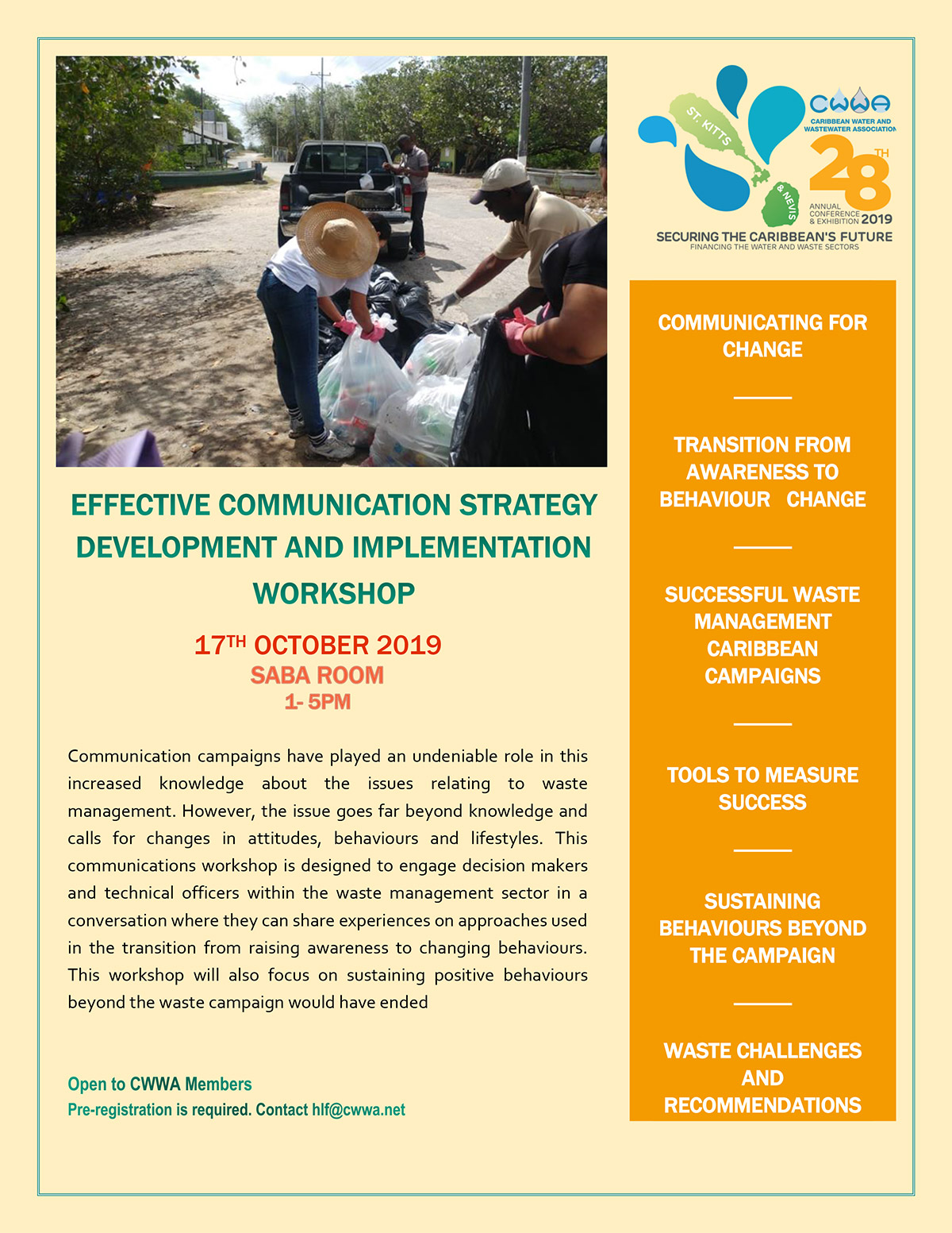 Effective Communication Strategy Development and Implementation Workshop