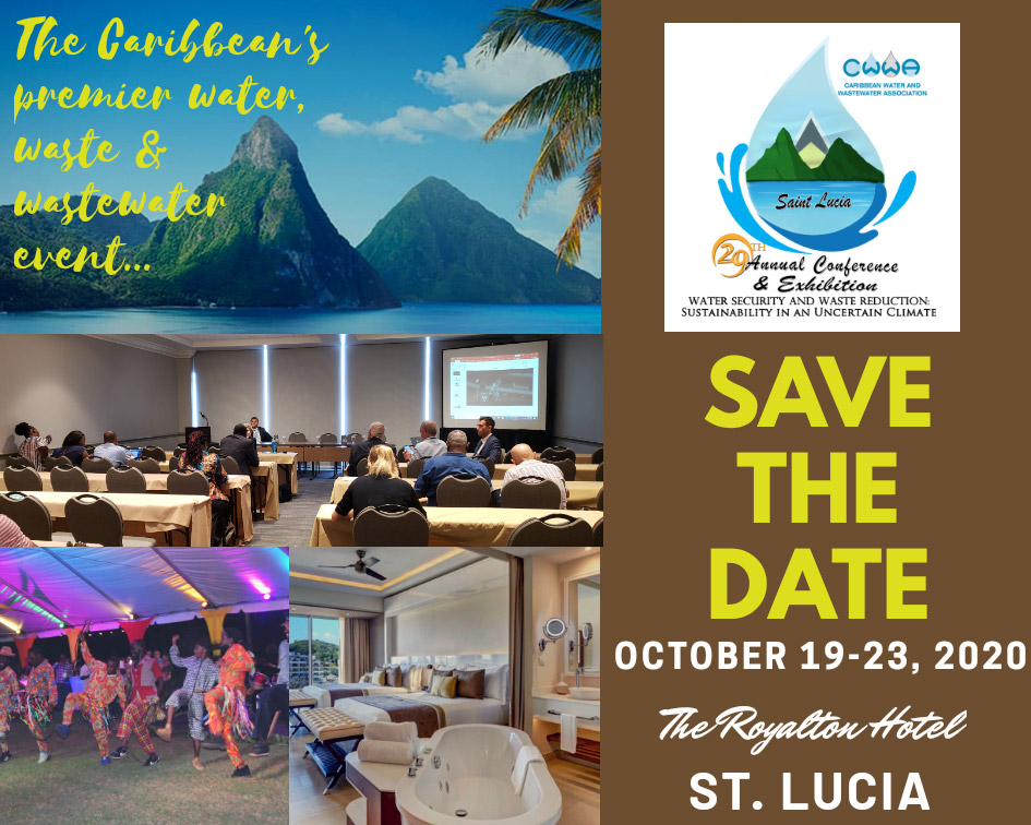 Save The Date - CWWA 2020 Conference and Exhibition - October 19-23, 2020