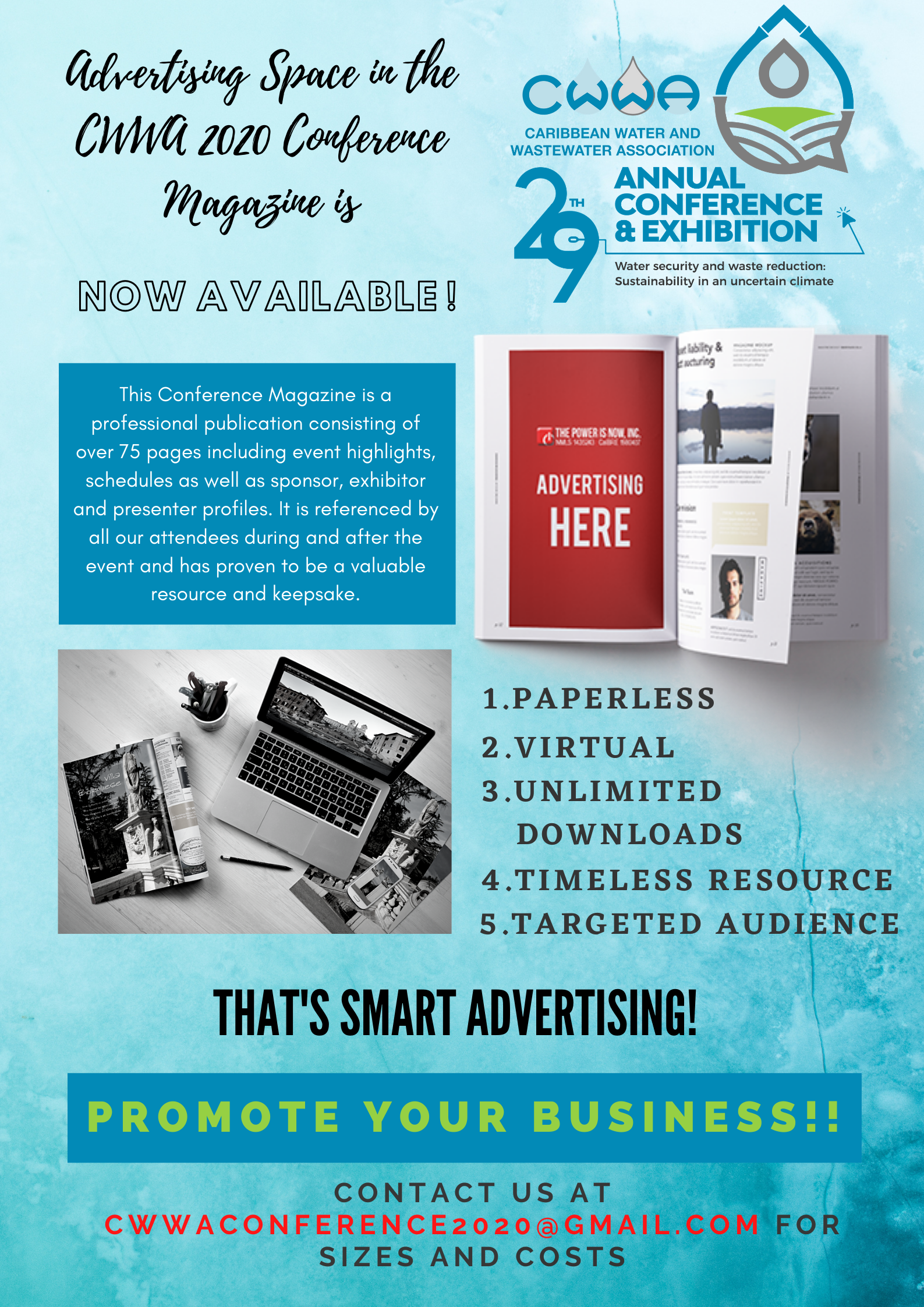 Conference Magazine Ad Flyer